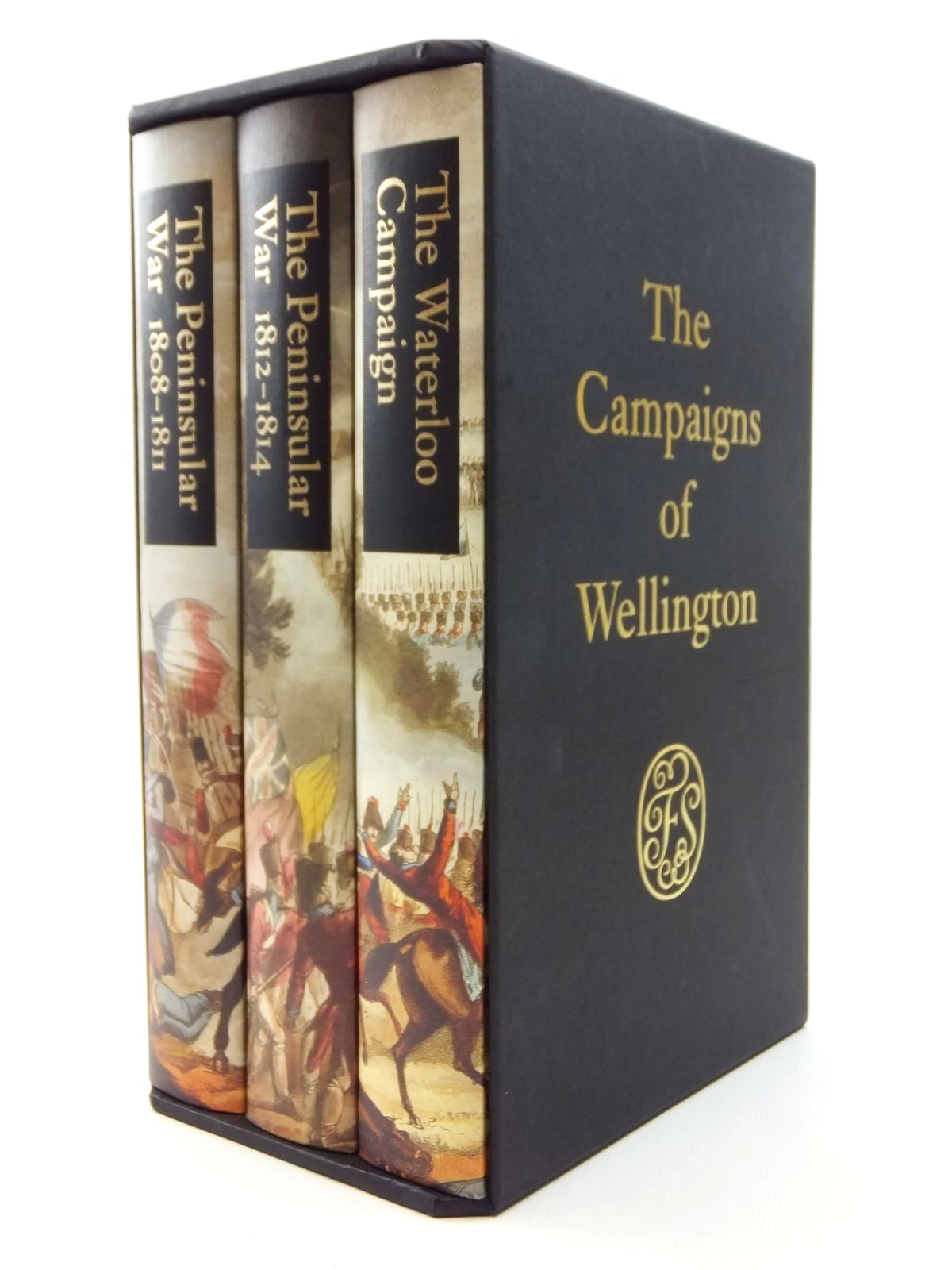 Photo of THE CAMPAIGNS OF WELLINGTON written by Fletcher, Ian published by Folio Society (STOCK CODE: 1609637)  for sale by Stella & Rose's Books