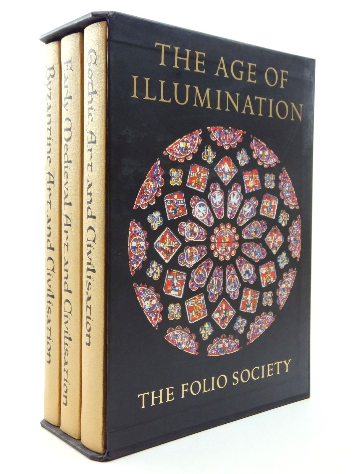 Photo of THE AGE OF ILLUMINATION (3 VOLUMES) written by Henderson, George<br />Runciman, Steven published by Folio Society (STOCK CODE: 1609638)  for sale by Stella & Rose's Books