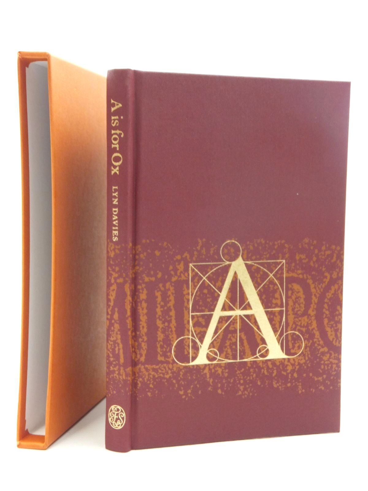 Photo of A IS FOR OX written by Davies, Lyn published by Folio Society (STOCK CODE: 1609642)  for sale by Stella & Rose's Books