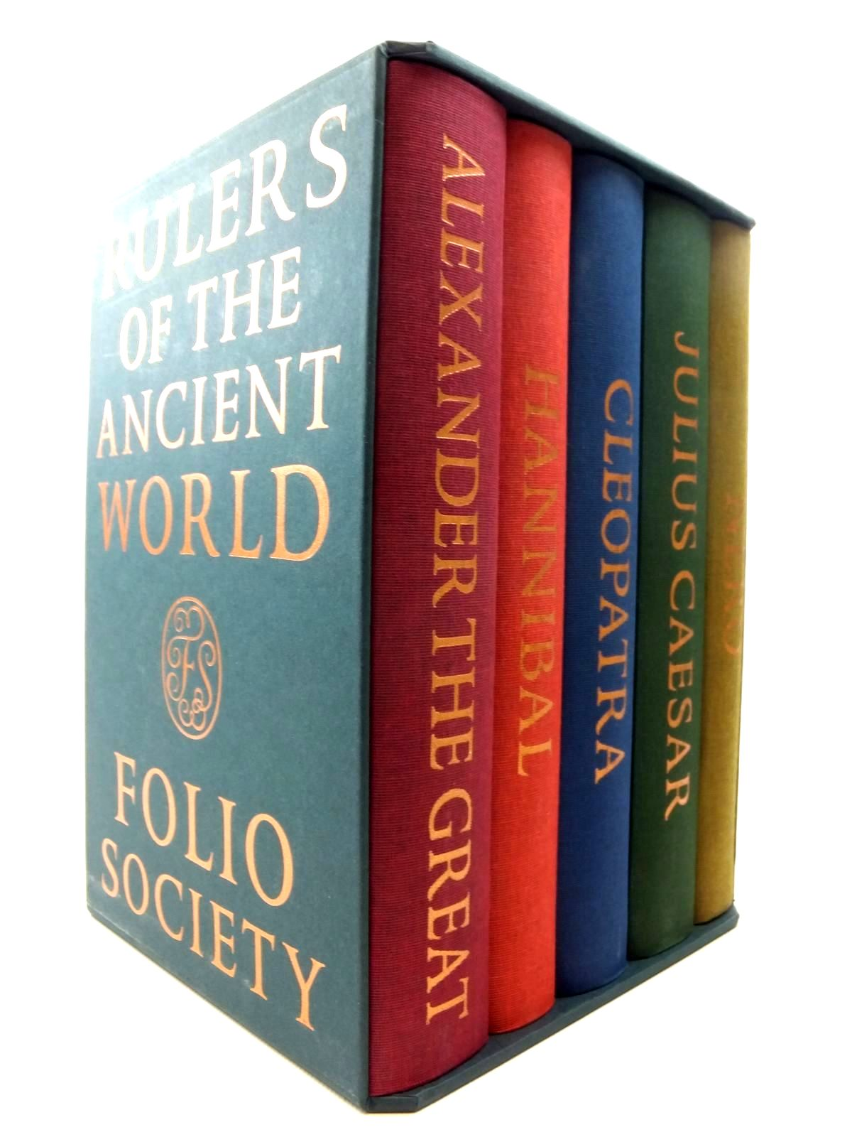 Photo of RULERS OF THE ANCIENT WORLD (5 VOLUMES) written by Fox, Robin Lane<br />Meier, Christian<br />et al,  published by Folio Society (STOCK CODE: 1609659)  for sale by Stella & Rose's Books