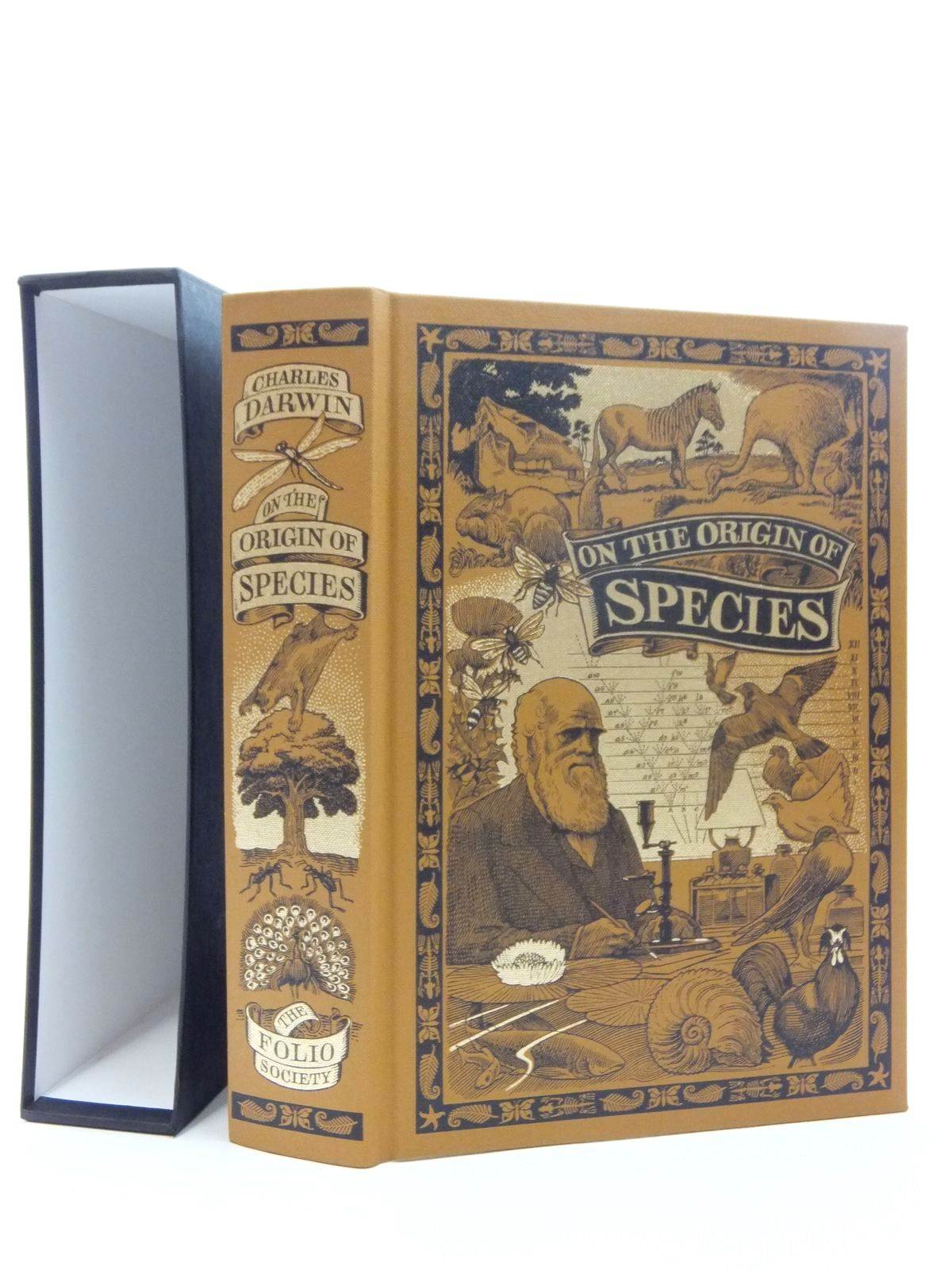 Photo of ON THE ORIGIN OF SPECIES BY MEANS OF NATURAL SELECTION written by Darwin, Charles<br />Keynes, Richard published by Folio Society (STOCK CODE: 1609678)  for sale by Stella & Rose's Books