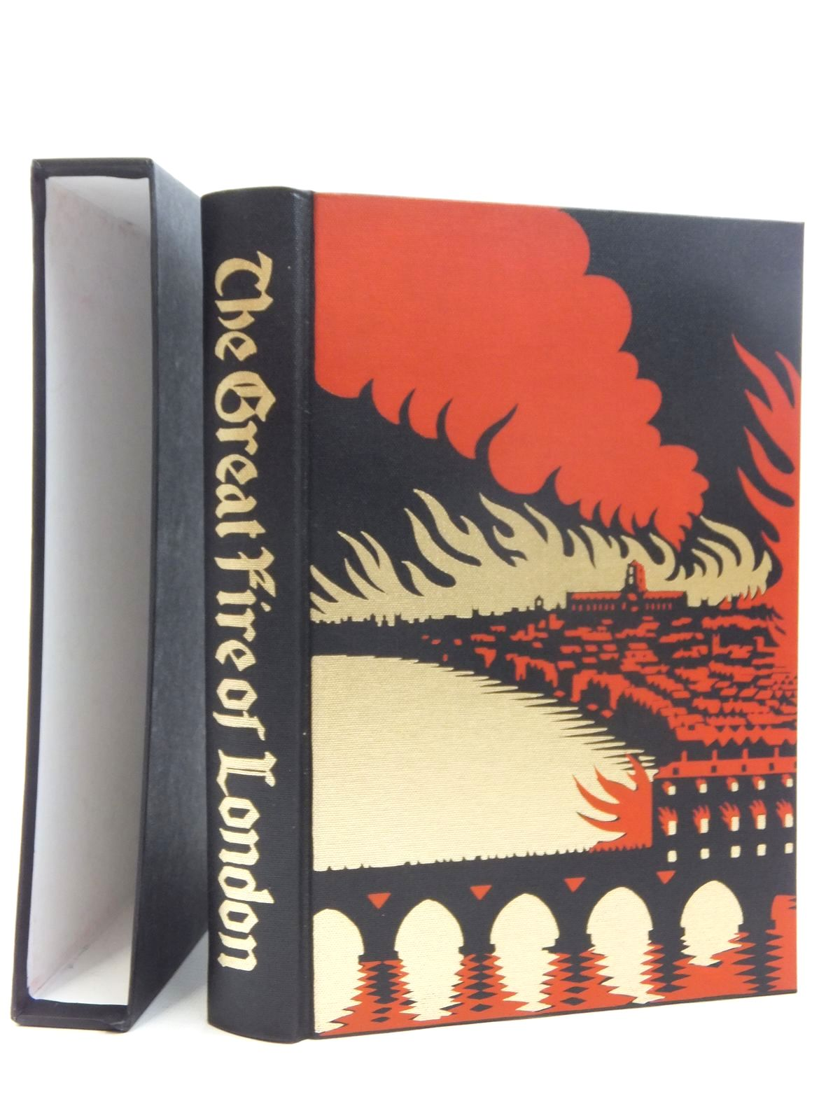 Photo of THE GREAT FIRE OF LONDON IN 1666 written by Bell, Walter George published by Folio Society (STOCK CODE: 1609680)  for sale by Stella & Rose's Books
