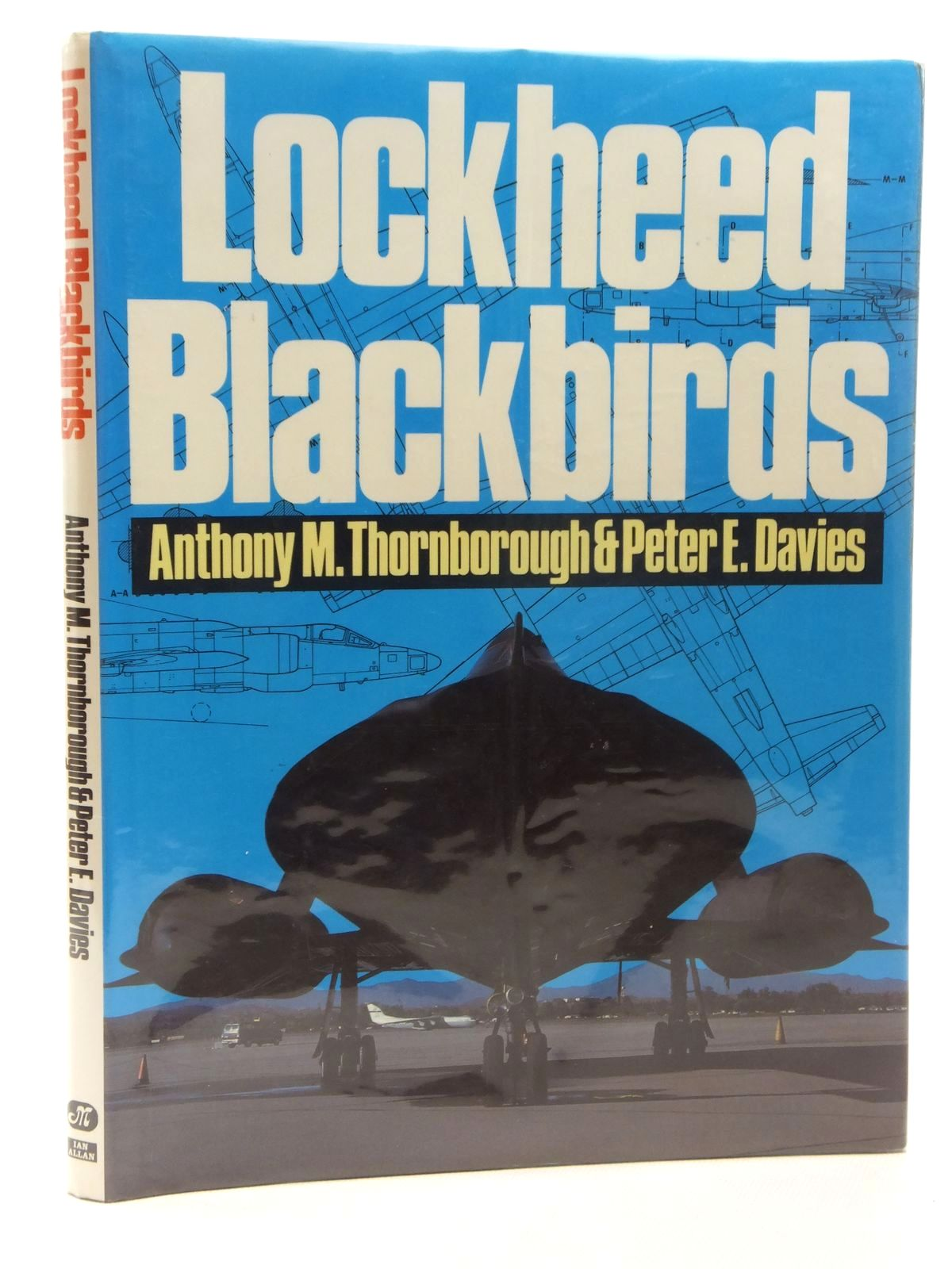 Photo of LOCKHEED BLACKBIRDS written by Thornborough, Anthony M.<br />Davies, Peter E. published by Ian Allan Ltd. (STOCK CODE: 1609708)  for sale by Stella & Rose's Books