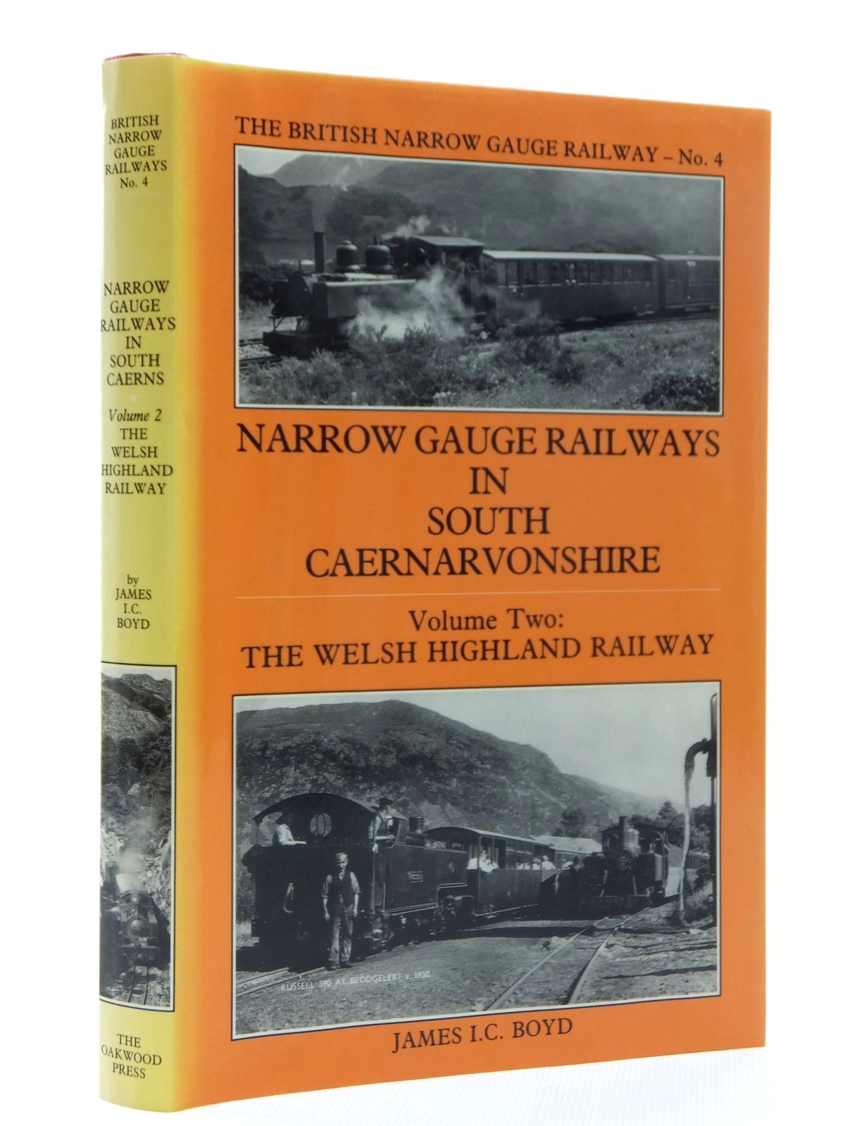 Photo of NARROW GAUGE RAILWAYS IN SOUTH CAERNARVONSHIRE VOLUME 2 written by Boyd, James I.C. published by The Oakwood Press (STOCK CODE: 1609753)  for sale by Stella & Rose's Books
