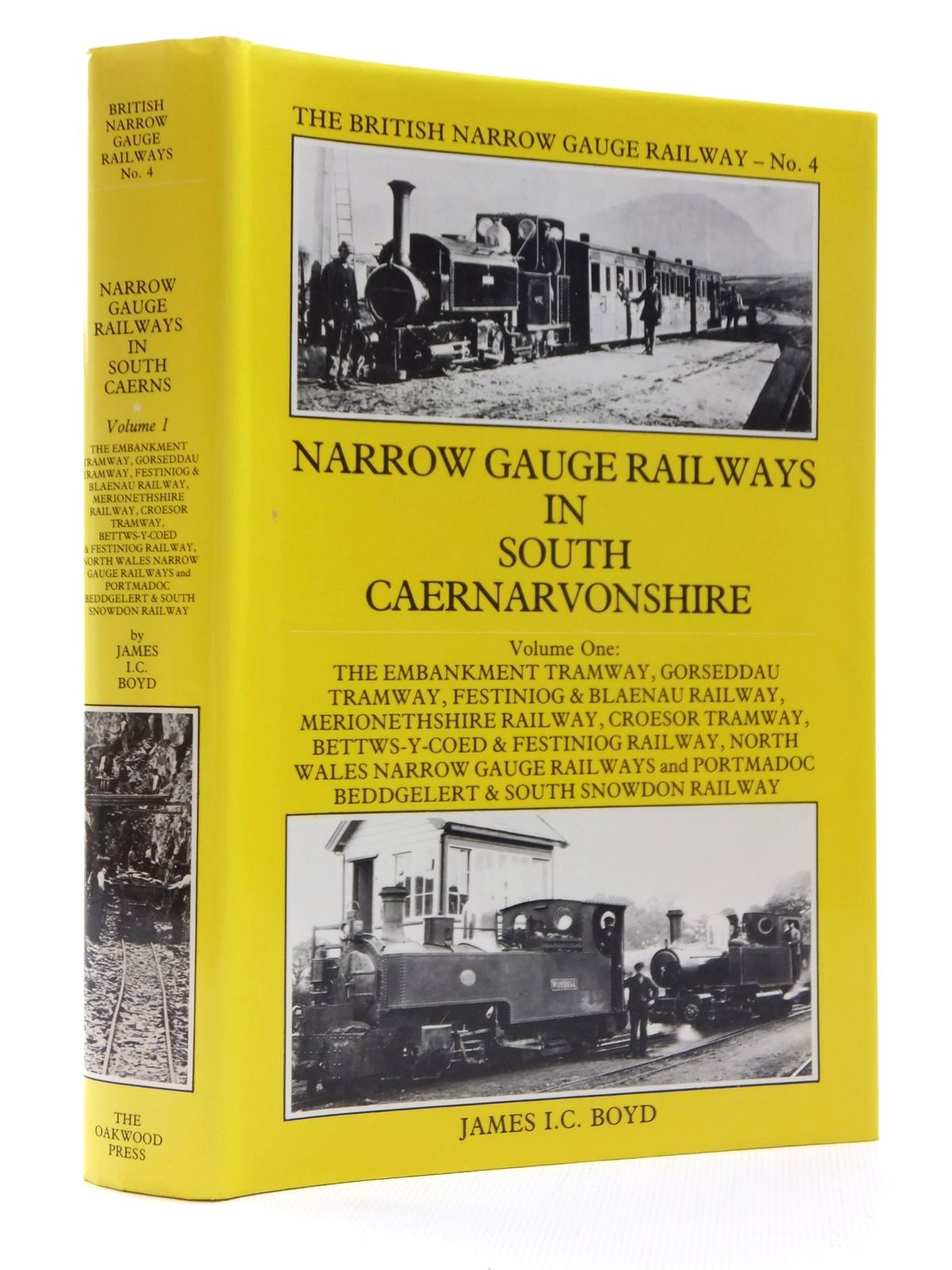 Photo of NARROW GAUGE RAILWAYS IN SOUTH CAERNARVONSHIRE VOLUME I written by Boyd, James I.C. published by The Oakwood Press (STOCK CODE: 1609754)  for sale by Stella & Rose's Books