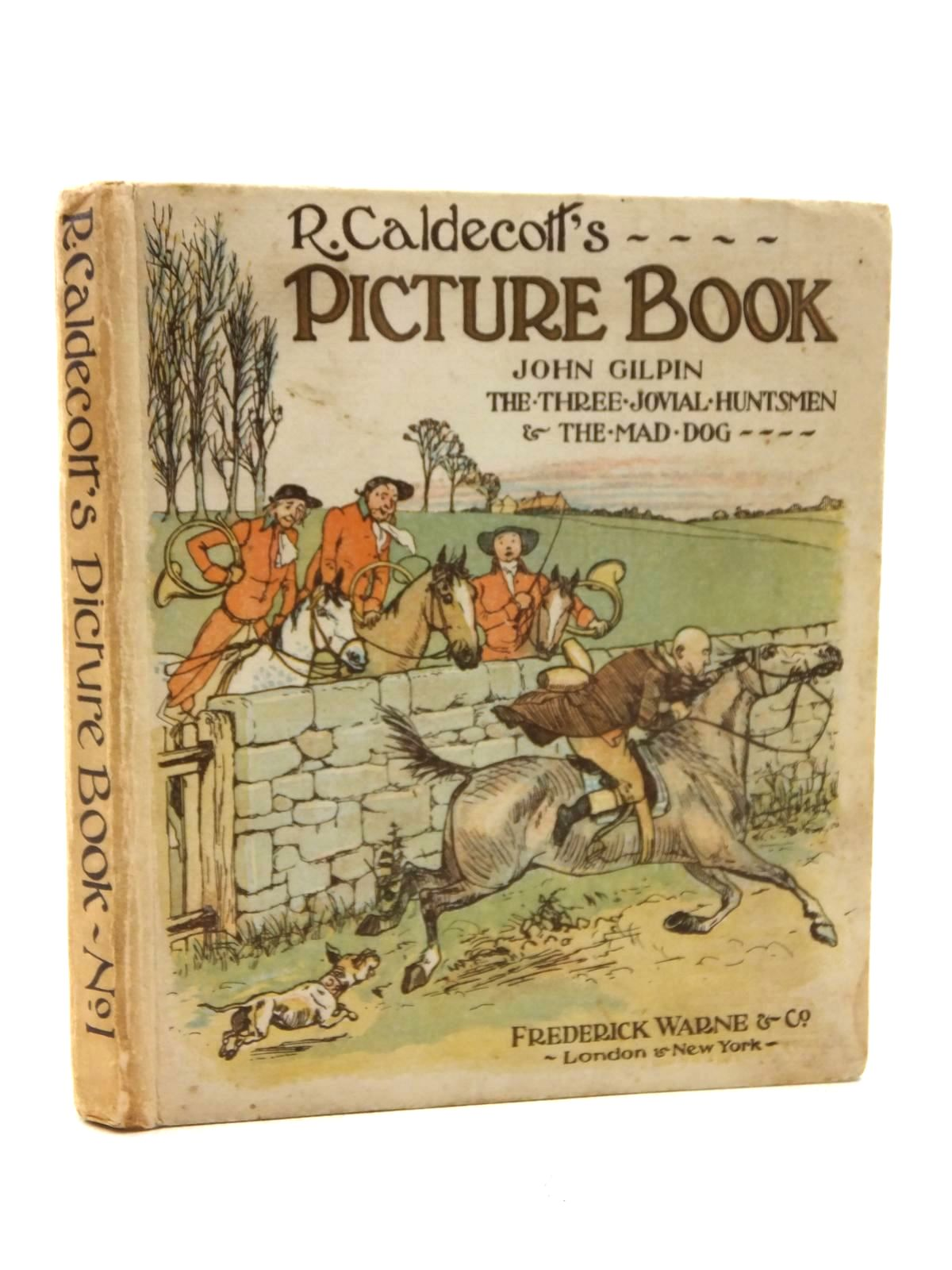 Photo of R. CALDECOTT'S PICTURE BOOK NO. 1 illustrated by Caldecott, Randolph published by Frederick Warne & Co Ltd. (STOCK CODE: 1609761)  for sale by Stella & Rose's Books