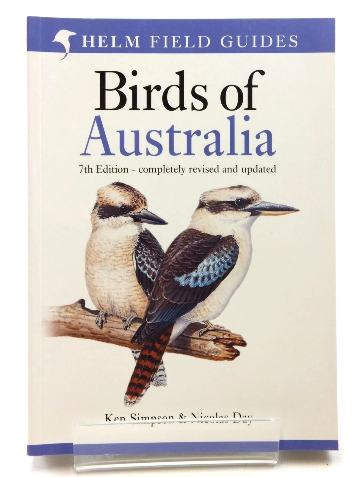 Photo of FIELD GUIDE TO THE BIRDS OF AUSTRALIA written by Simpson, Ken<br />Day, Nicolas<br />Trusler, Peter published by Christopher Helm (STOCK CODE: 1609786)  for sale by Stella & Rose's Books