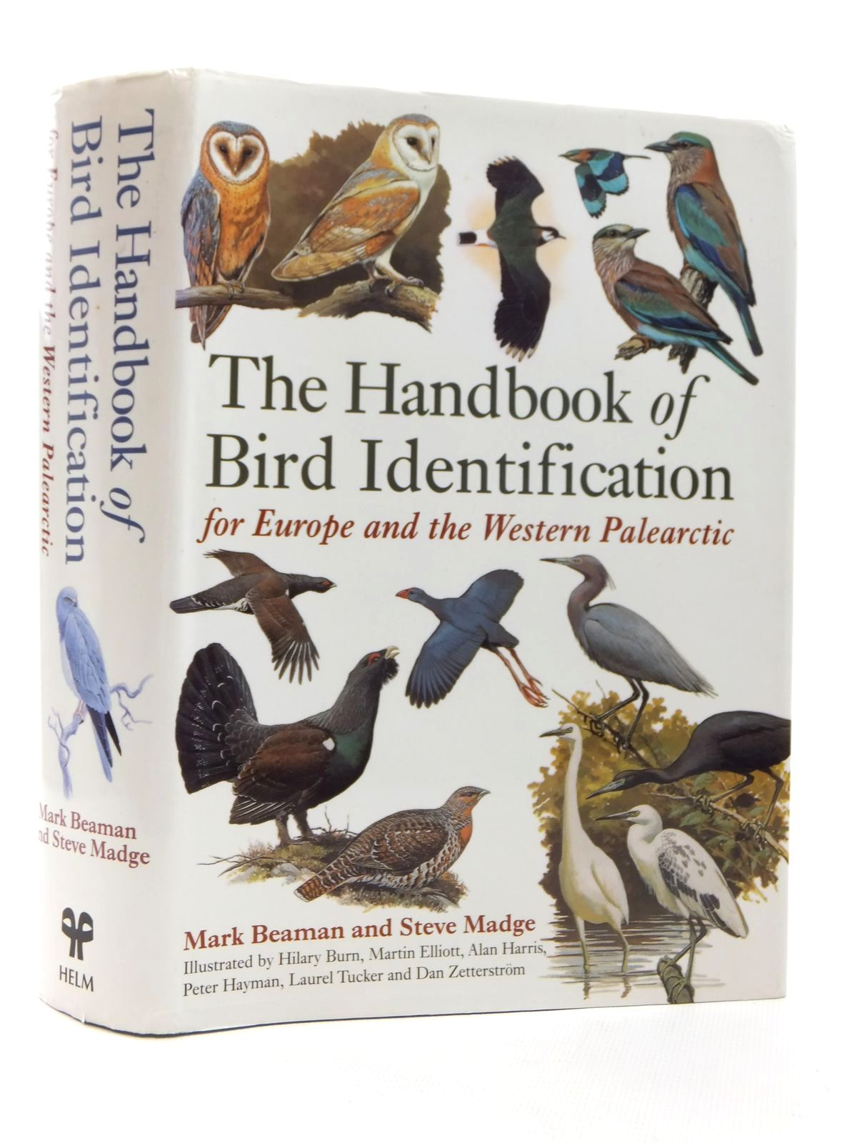 Photo of THE HANDBOOK OF BIRD IDENTIFICATION FOR EUROPE AND THE WESTERN PALEARCTIC written by Beaman, Mark<br />Madge, Steve illustrated by Burn, Hilary<br />et al.,  published by Christopher Helm (STOCK CODE: 1609822)  for sale by Stella & Rose's Books