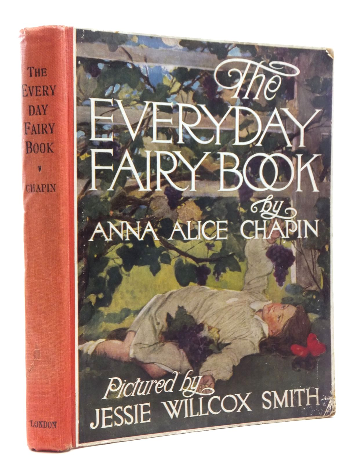 Photo of THE EVERYDAY FAIRY BOOK written by Chapin, Anna Alice illustrated by Smith, Jessie Willcox published by J. Coker & Co. Ltd. (STOCK CODE: 1609840)  for sale by Stella & Rose's Books