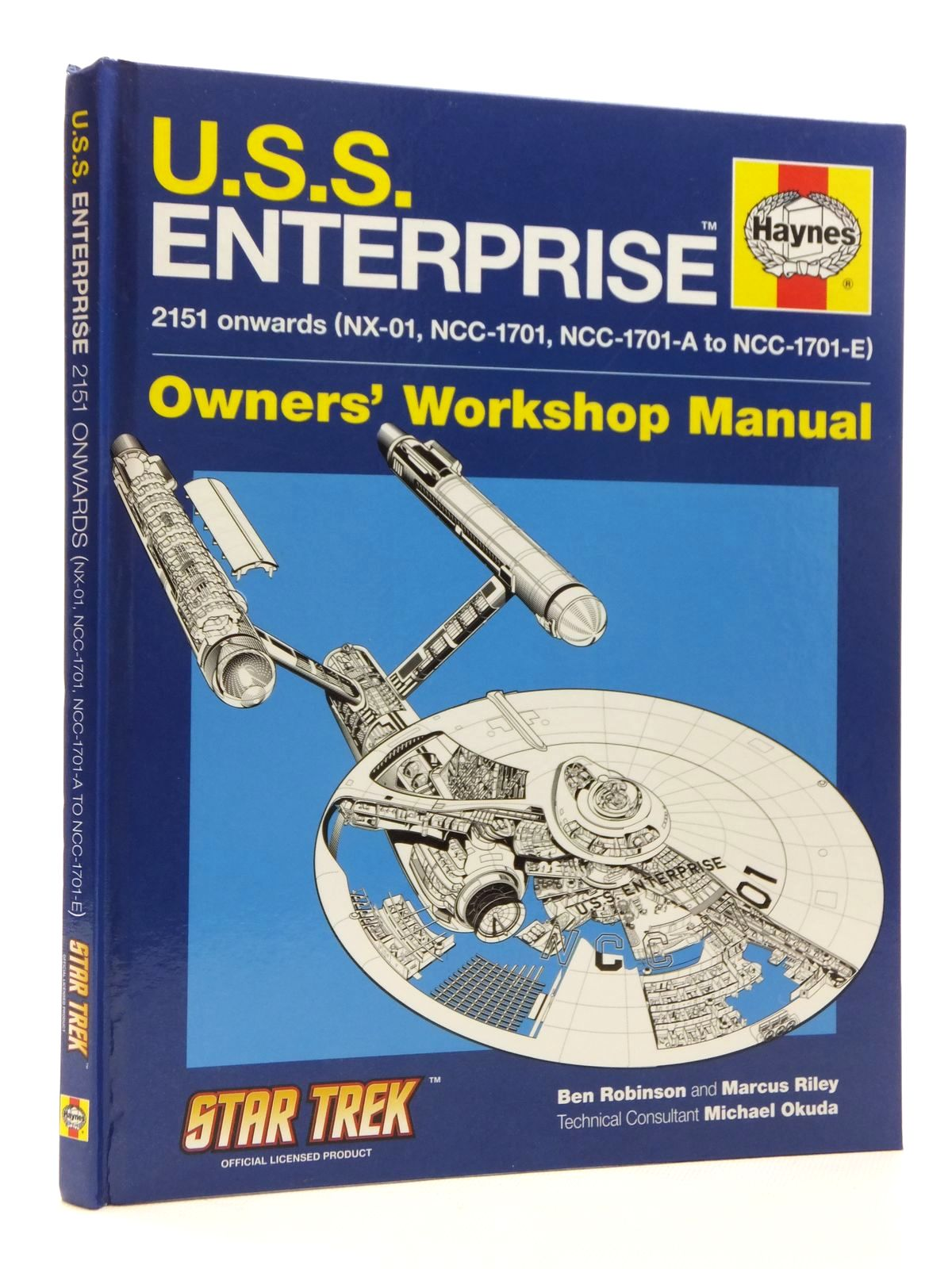 Photo of U.S.S. ENTERPRISE OWNERS' WORKSHOP MANUAL written by Robinson, Ben<br />Riley, Marcus published by Haynes Publishing (STOCK CODE: 1609856)  for sale by Stella & Rose's Books