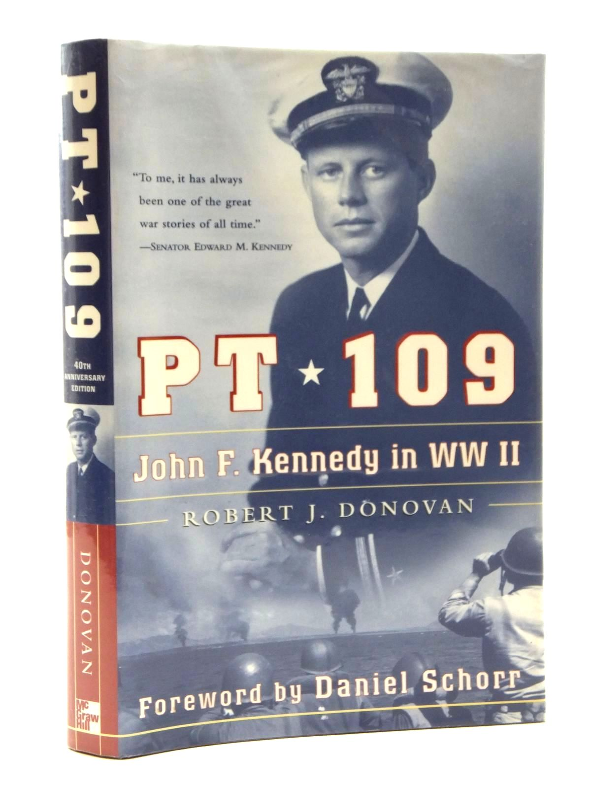 Photo of PT 109 JOHN F. KENNEDY IN WORLD WAR II written by Donovan, Robert J. published by McGraw-Hill (STOCK CODE: 1609883)  for sale by Stella & Rose's Books
