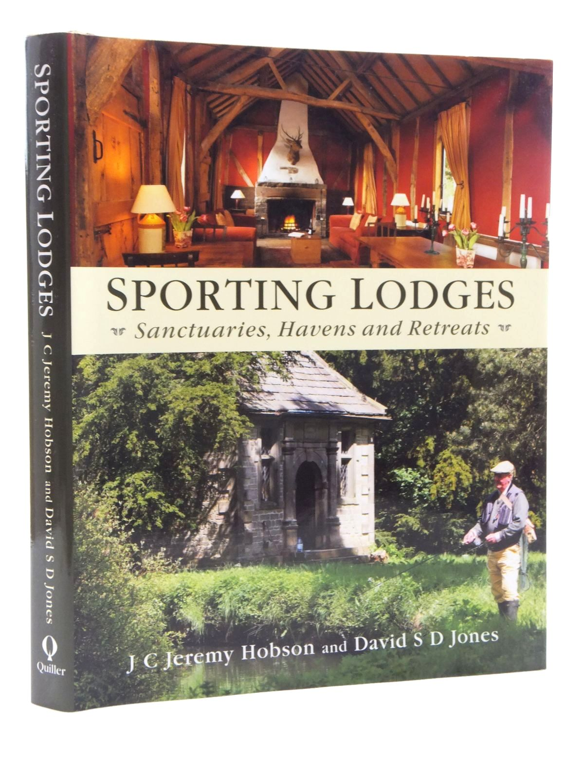 Photo of SPORTING LODGES written by Hobson, J.C.J.<br />Jones, David S.D. published by Quiller (STOCK CODE: 1609915)  for sale by Stella & Rose's Books