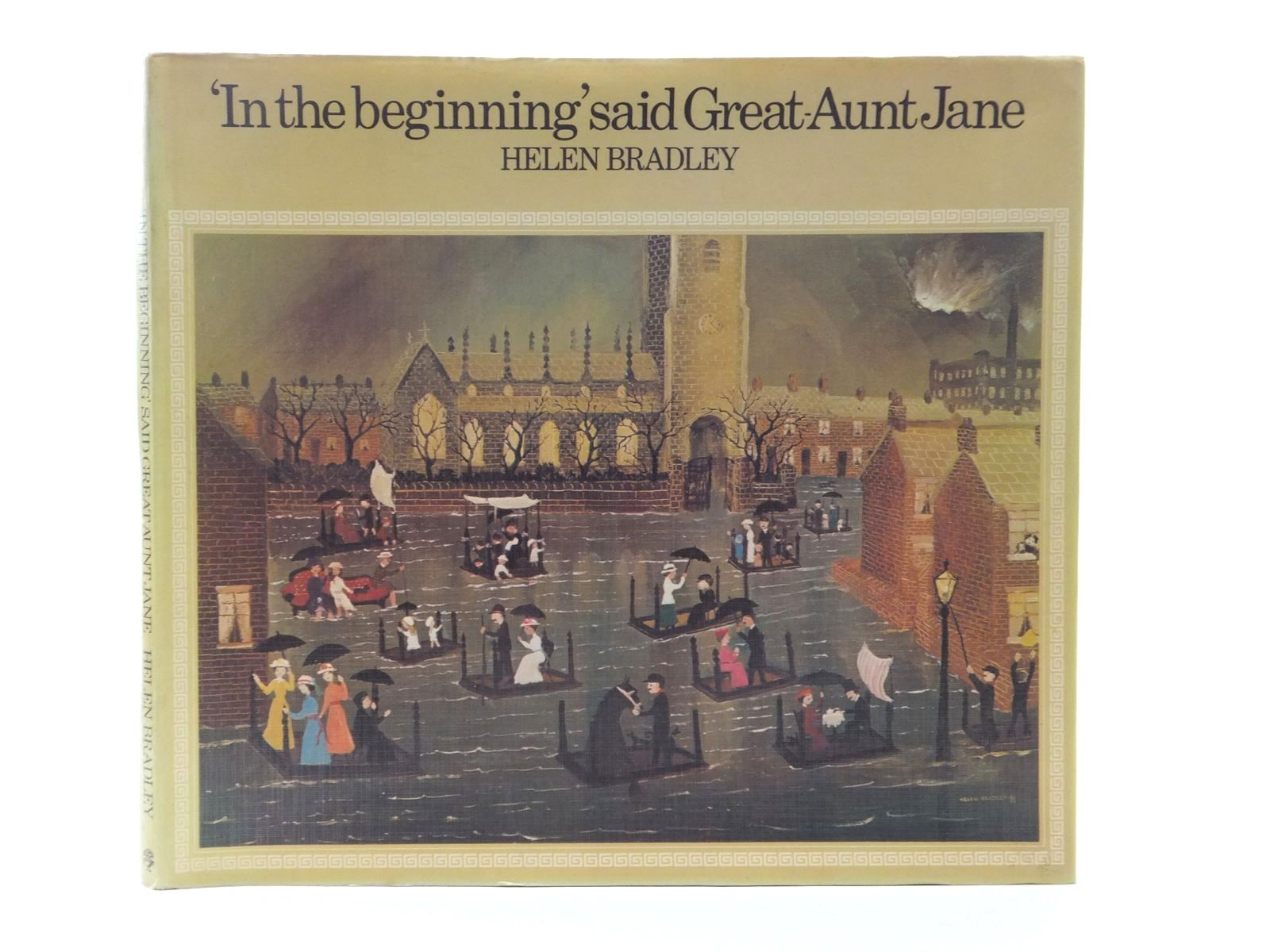 Photo of IN THE BEGINNING SAID GREAT-AUNT JANE written by Bradley, Helen illustrated by Bradley, Helen published by Jonathan Cape (STOCK CODE: 1609935)  for sale by Stella & Rose's Books