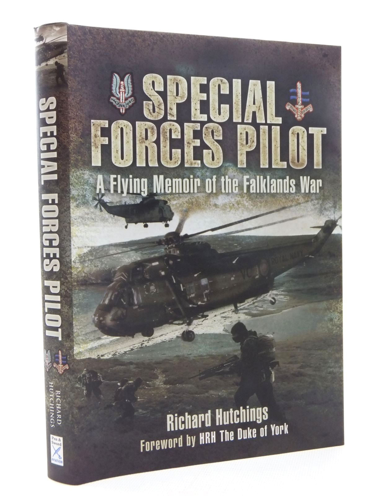 Photo of SPECIAL FORCES PILOT written by Hutchings, Richard published by Pen & Sword Military (STOCK CODE: 1609948)  for sale by Stella & Rose's Books