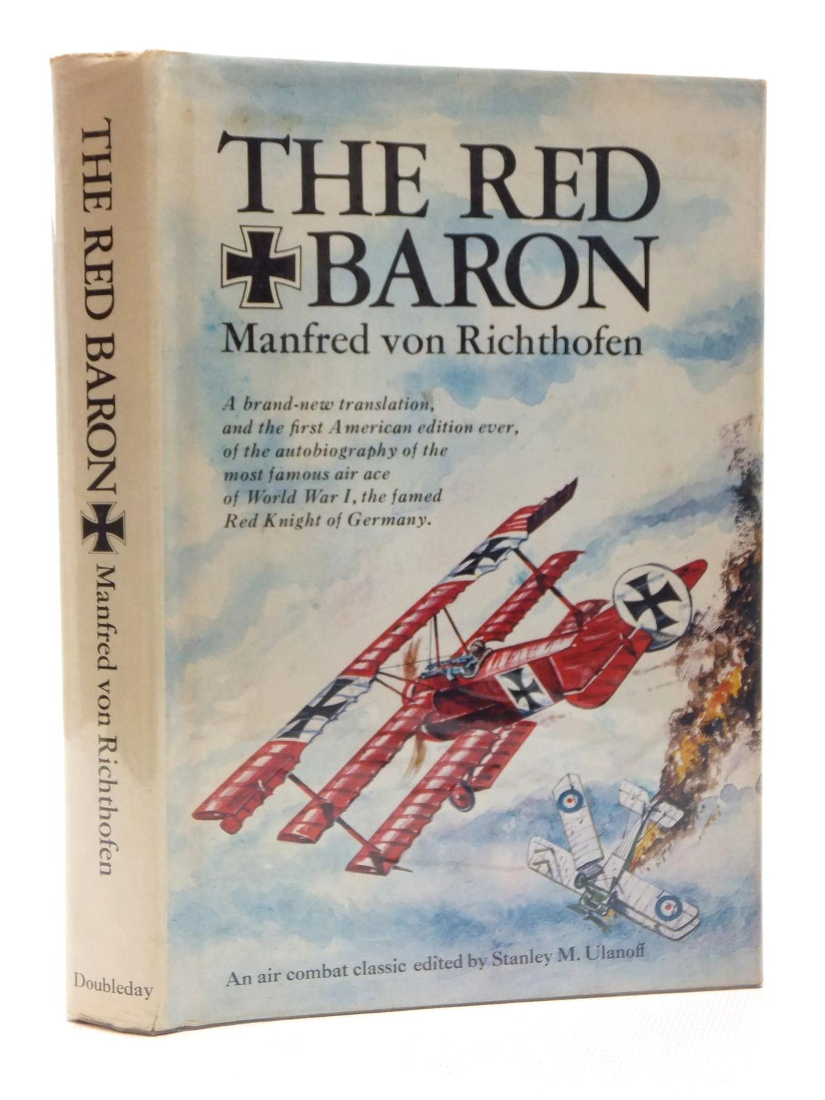 Photo of THE RED BARON written by Kilduff, Peter<br />Von Richthofen, Manfred Freiherr published by Doubleday & Company, Inc. (STOCK CODE: 1609991)  for sale by Stella & Rose's Books