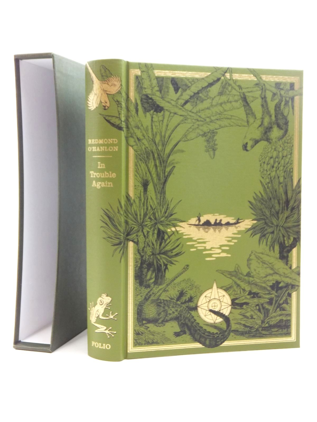 Photo of IN TROUBLE AGAIN written by O'Hanlon, Redmond published by Folio Society (STOCK CODE: 1610016)  for sale by Stella & Rose's Books