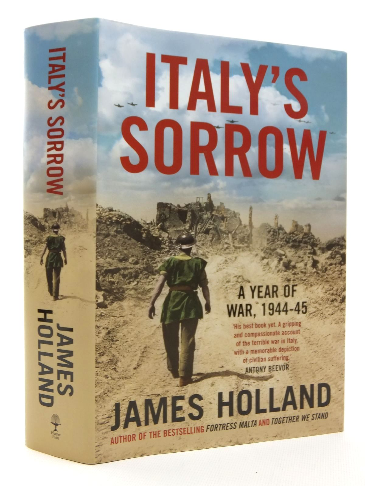 Photo of ITALY'S SORROW A YEAR OF WAR 1944-1945 written by Holland, James published by Harper Press (STOCK CODE: 1610026)  for sale by Stella & Rose's Books