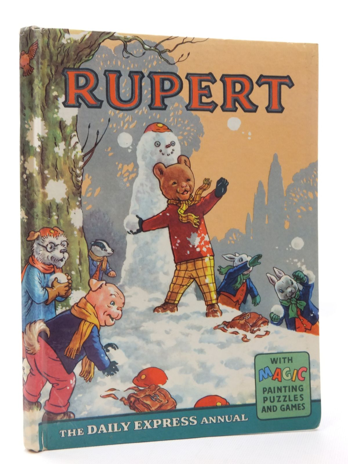 Photo of RUPERT ANNUAL 1962 written by Bestall, Alfred illustrated by Bestall, Alfred published by Daily Express (STOCK CODE: 1610069)  for sale by Stella & Rose's Books