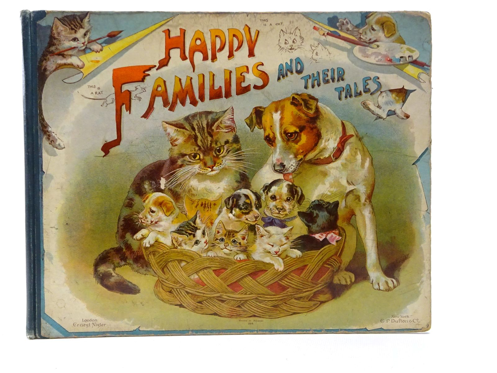 Photo of HAPPY FAMILIES AND THEIR TALES published by Ernest Nister (STOCK CODE: 1610115)  for sale by Stella & Rose's Books