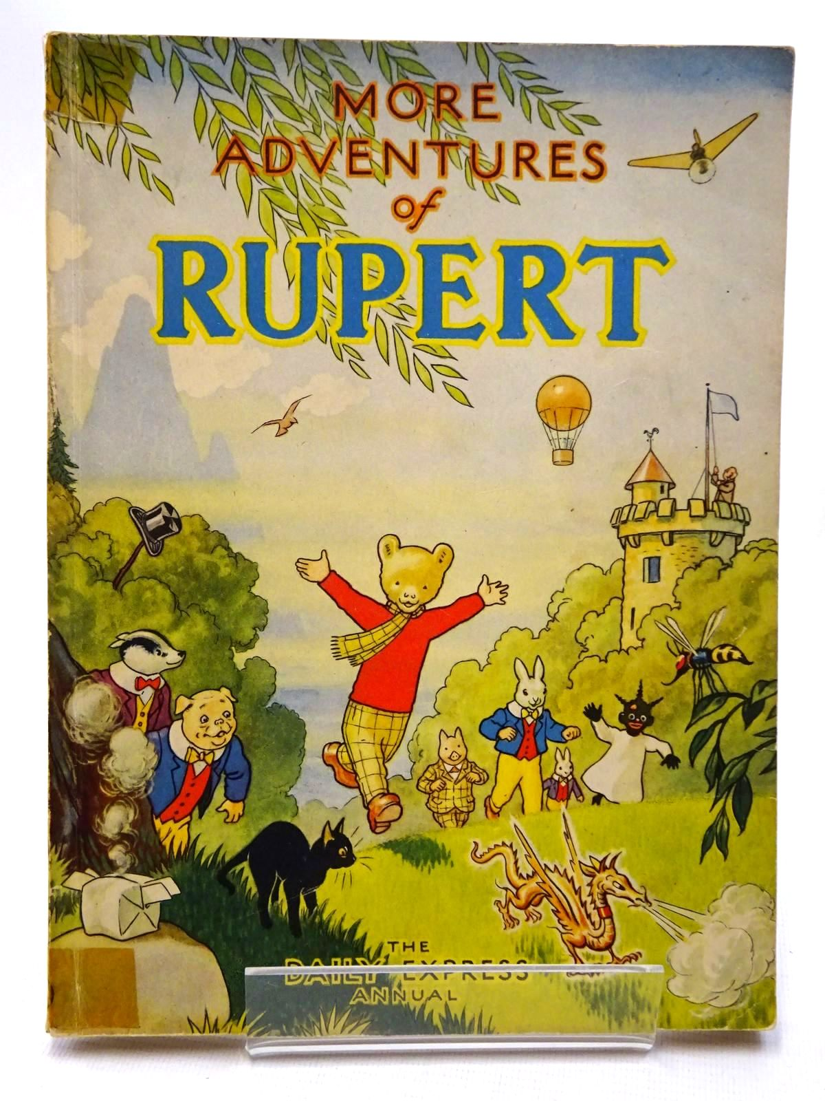 Photo of RUPERT ANNUAL 1947 - MORE ADVENTURES OF RUPERT written by Bestall, Alfred illustrated by Bestall, Alfred published by Daily Express (STOCK CODE: 1610121)  for sale by Stella & Rose's Books