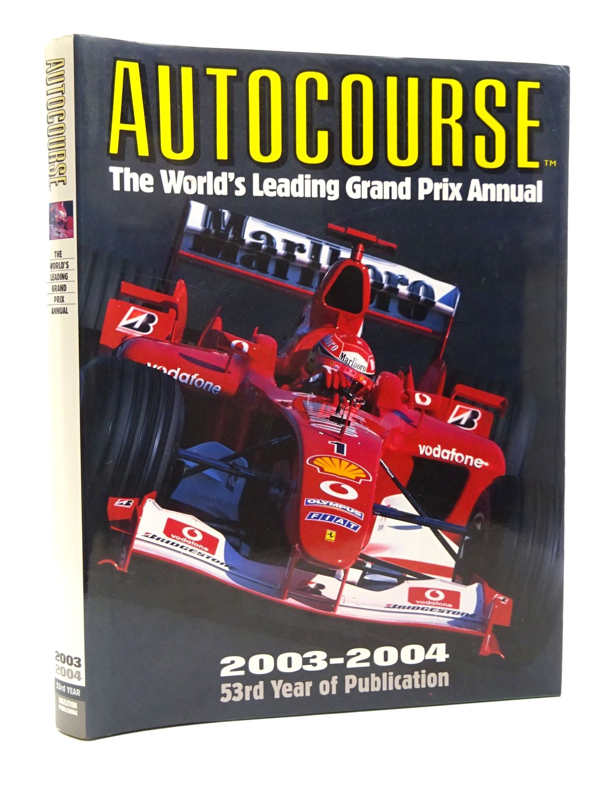 Photo of AUTOCOURSE 2003-2004 written by Henry, Alan published by Hazleton Publishing (STOCK CODE: 1610123)  for sale by Stella & Rose's Books