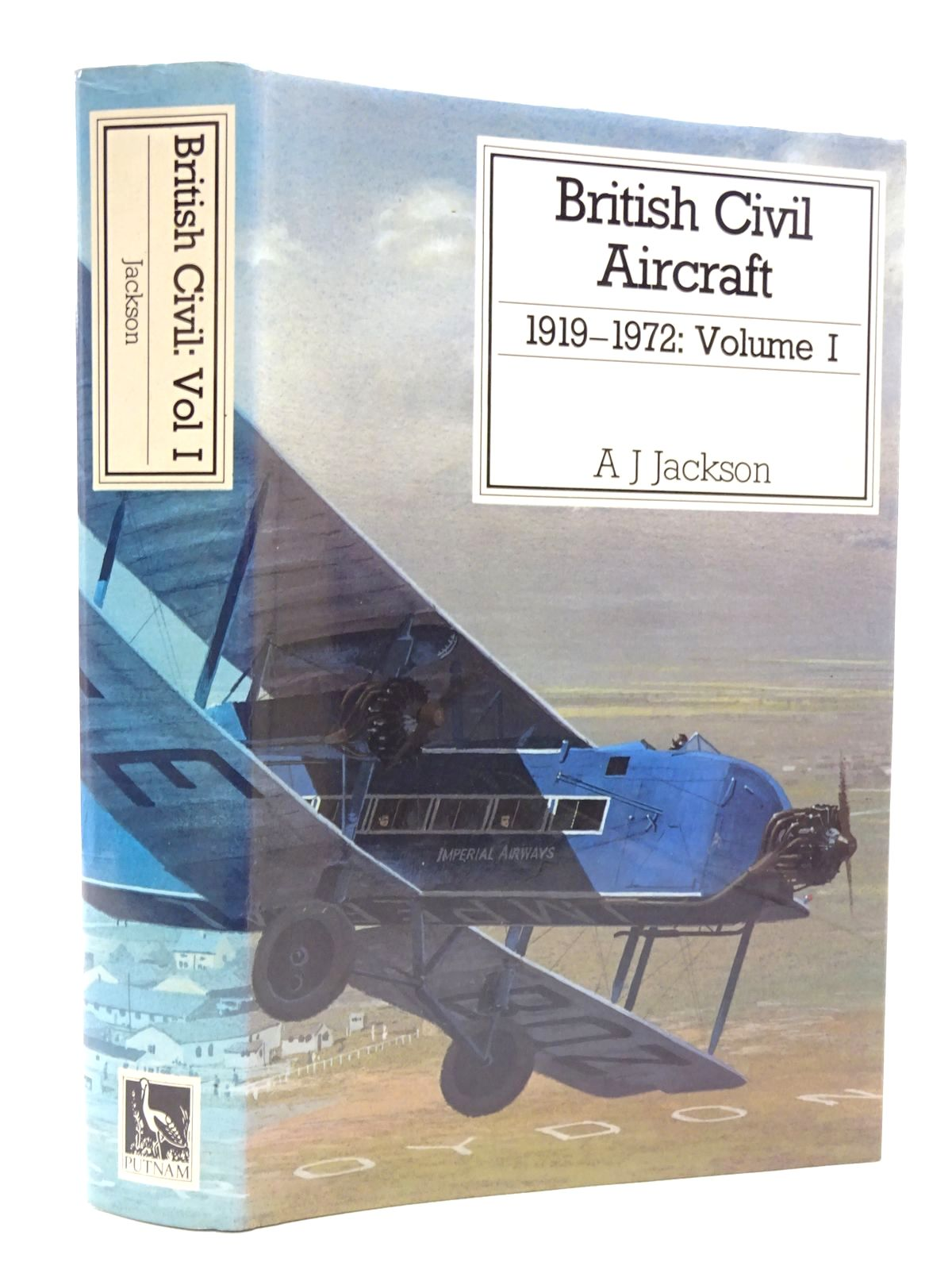Photo of BRITISH CIVIL AIRCRAFT 1919-1972 VOLUME I written by Jackson, A.J. published by Putnam (STOCK CODE: 1610132)  for sale by Stella & Rose's Books