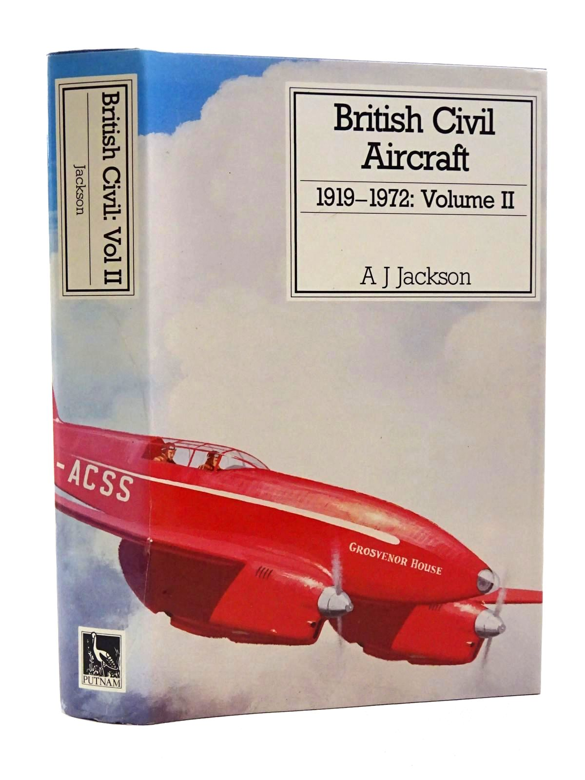 Photo of BRITISH CIVIL AIRCRAFT 1919 VOLUME II written by Jackson, A.J. published by Putnam (STOCK CODE: 1610140)  for sale by Stella & Rose's Books