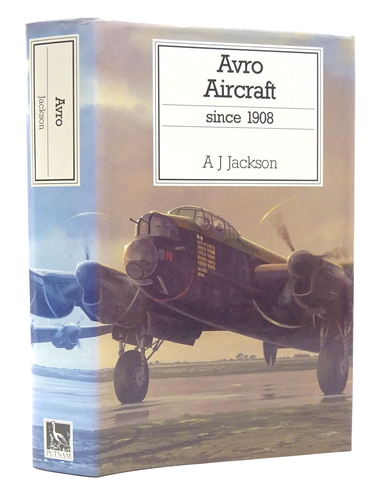 Photo of AVRO AIRCRAFT SINCE 1908 written by Jackson, A.J.<br />Jackson, R.T. published by Putnam (STOCK CODE: 1610141)  for sale by Stella & Rose's Books