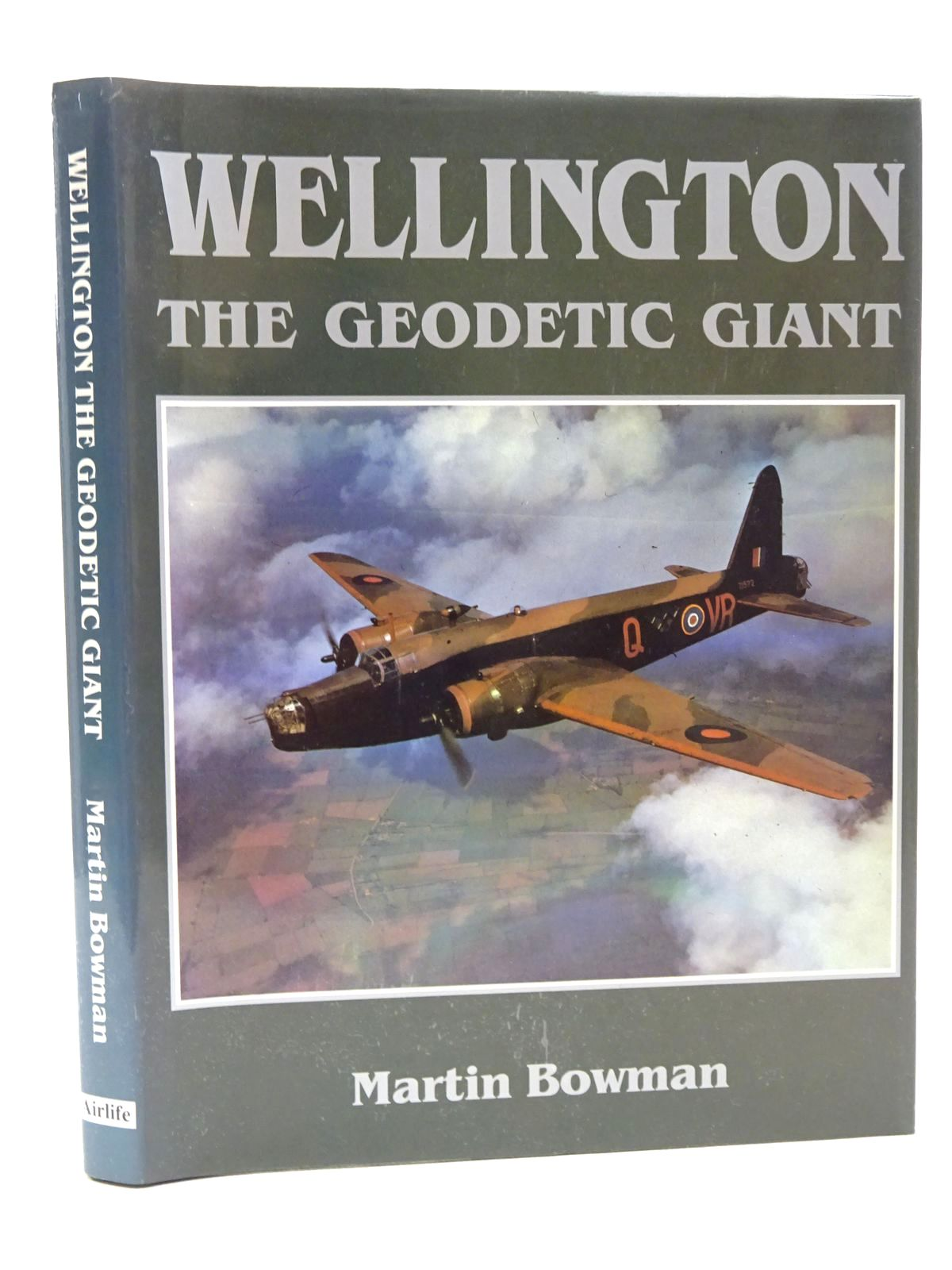 Photo of WELLINGTON THE GEODETIC GIANT written by Bowman, Martin published by Airlife (STOCK CODE: 1610143)  for sale by Stella & Rose's Books