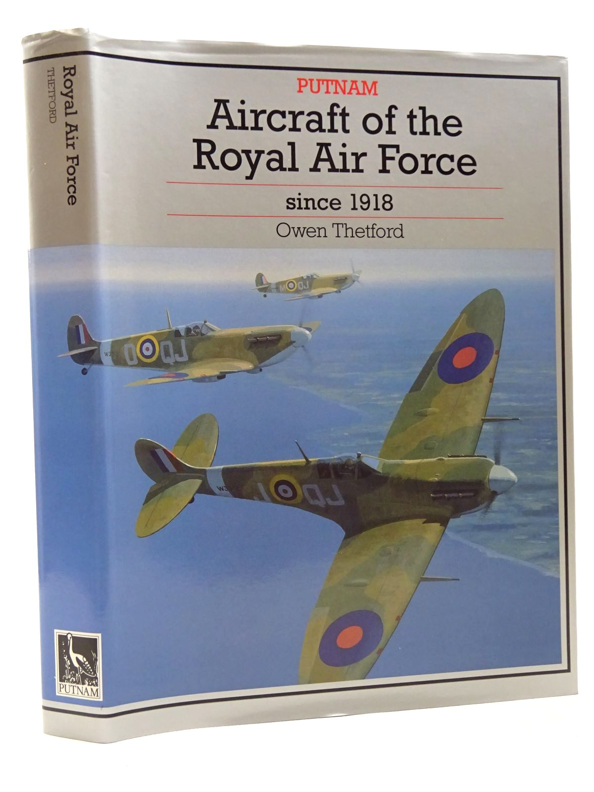 Photo of AIRCRAFT OF THE ROYAL AIR FORCE SINCE 1918 written by Thetford, Owen G. published by Putnam (STOCK CODE: 1610198)  for sale by Stella & Rose's Books