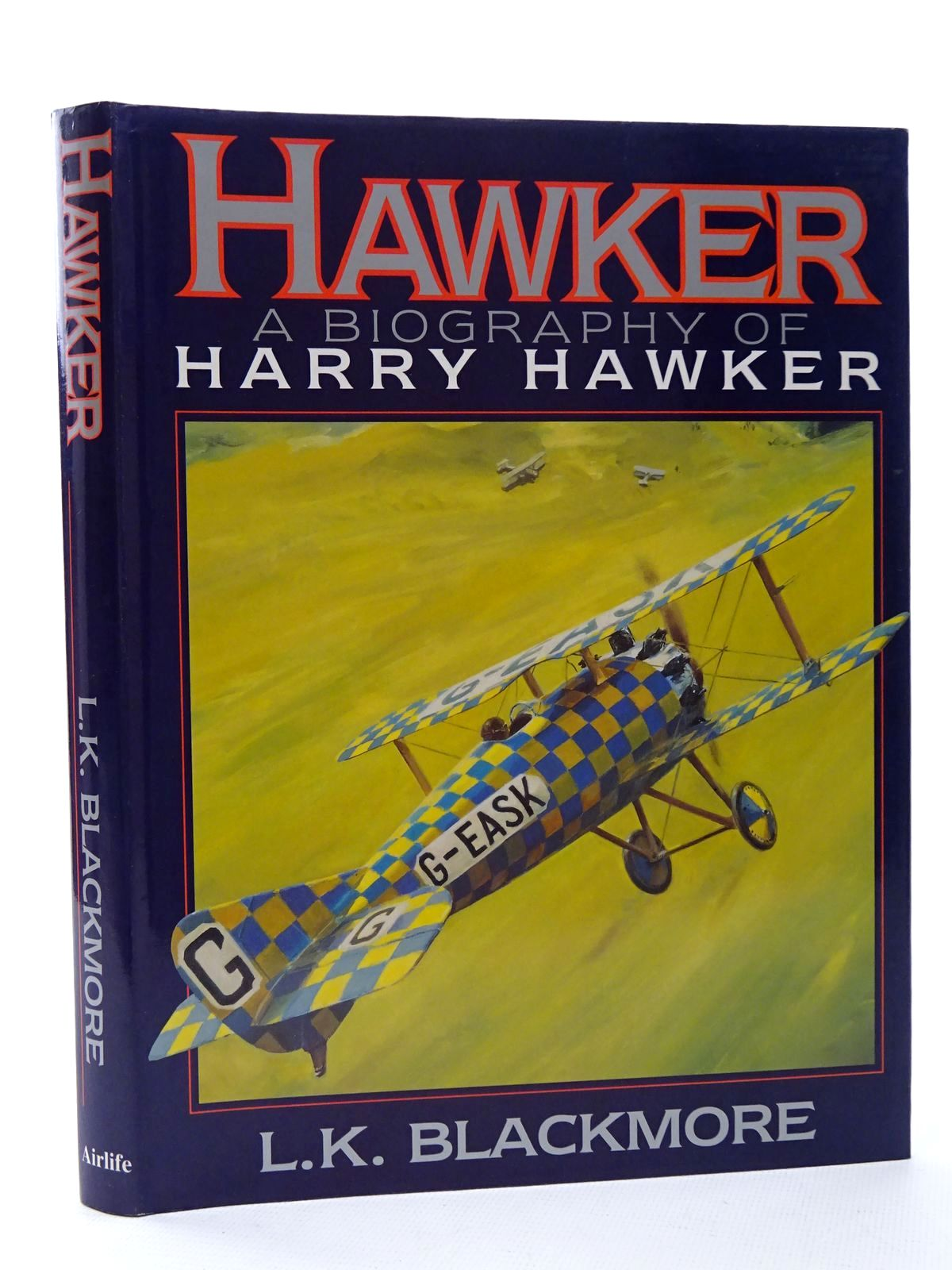 Photo of HAWKER ONE OF AVIATION'S GREATEST NAMES written by Blackmore, L.K. published by Airlife (STOCK CODE: 1610203)  for sale by Stella & Rose's Books