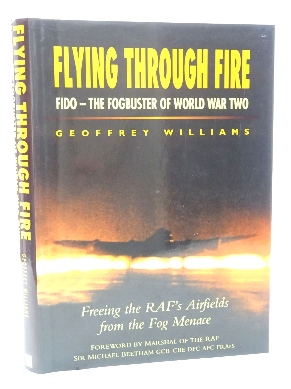 Photo of FLYING THROUGH FIRE written by Williams, Geoffrey published by Grange Books (STOCK CODE: 1610211)  for sale by Stella & Rose's Books
