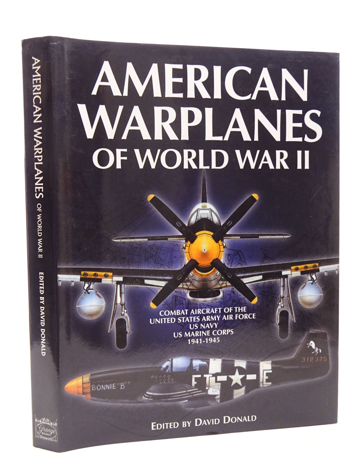 Photo of AMERICAN WARPLANES OF WORLD WAR II written by Donald, David published by Grange Books (STOCK CODE: 1610218)  for sale by Stella & Rose's Books