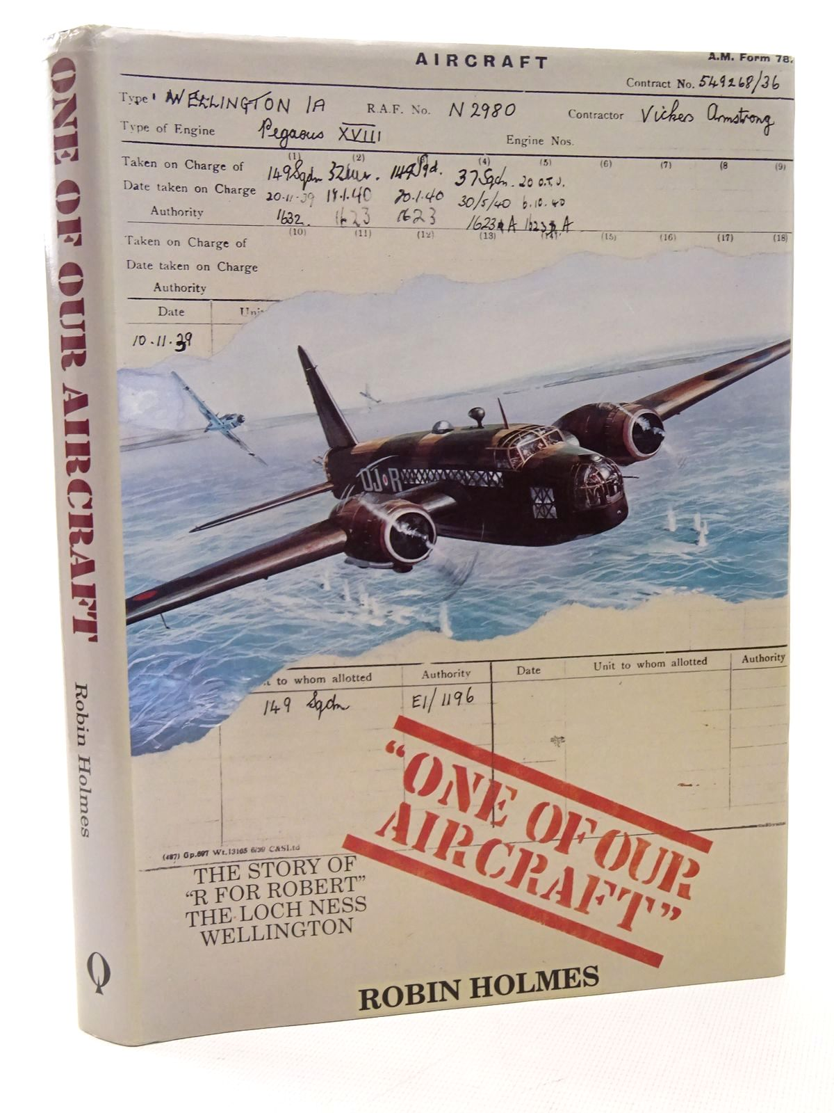 Photo of ONE OF OUR AIRCRAFT written by Holmes, Robin published by Quiller Press (STOCK CODE: 1610225)  for sale by Stella & Rose's Books