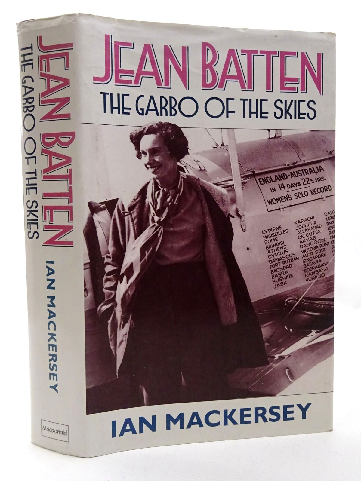 Photo of JEAN BATTEN THE GARBO OF THE SKIES written by Mackersey, Ian published by MacDonald (STOCK CODE: 1610243)  for sale by Stella & Rose's Books
