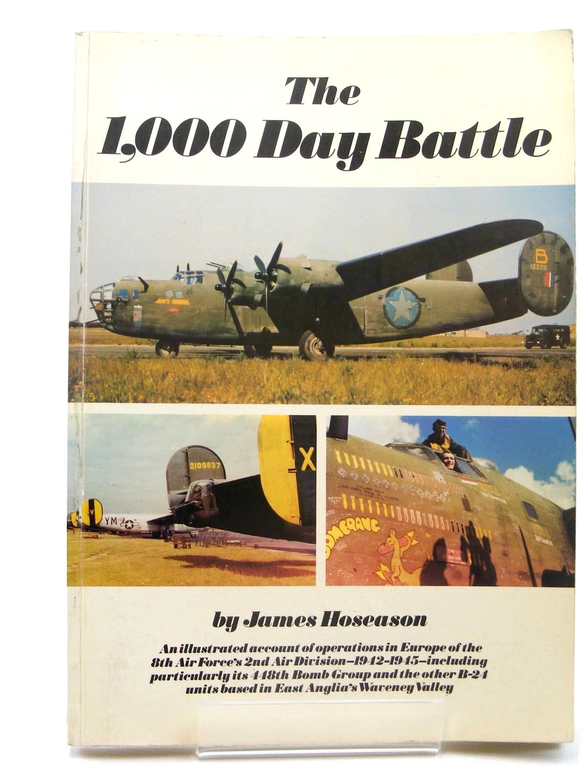 Photo of THE 1,000 DAY BATTLE written by Hoseason, James published by Gillingham Publications (STOCK CODE: 1610271)  for sale by Stella & Rose's Books