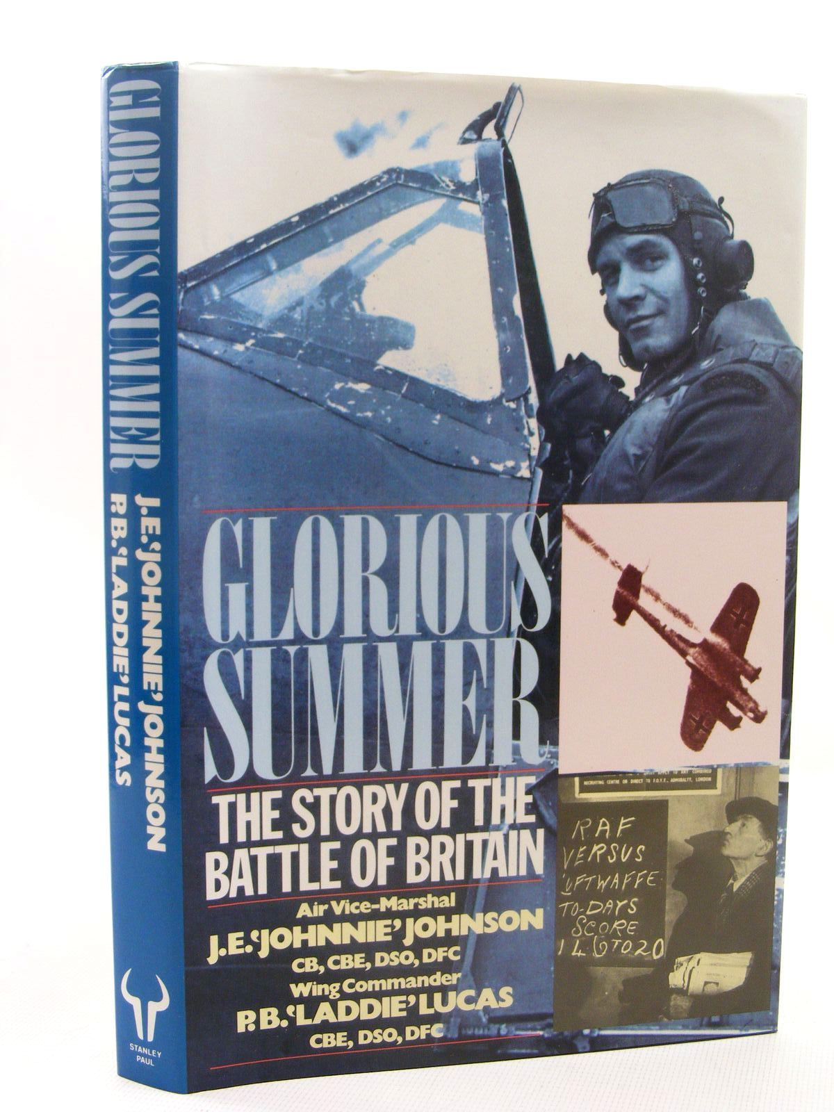 Photo of GLORIOUS SUMMER THE STORY OF THE BATTLE OF BRITAIN written by Johnson, J.E.<br />Lucas, P.B. published by Stanley Paul (STOCK CODE: 1610278)  for sale by Stella & Rose's Books