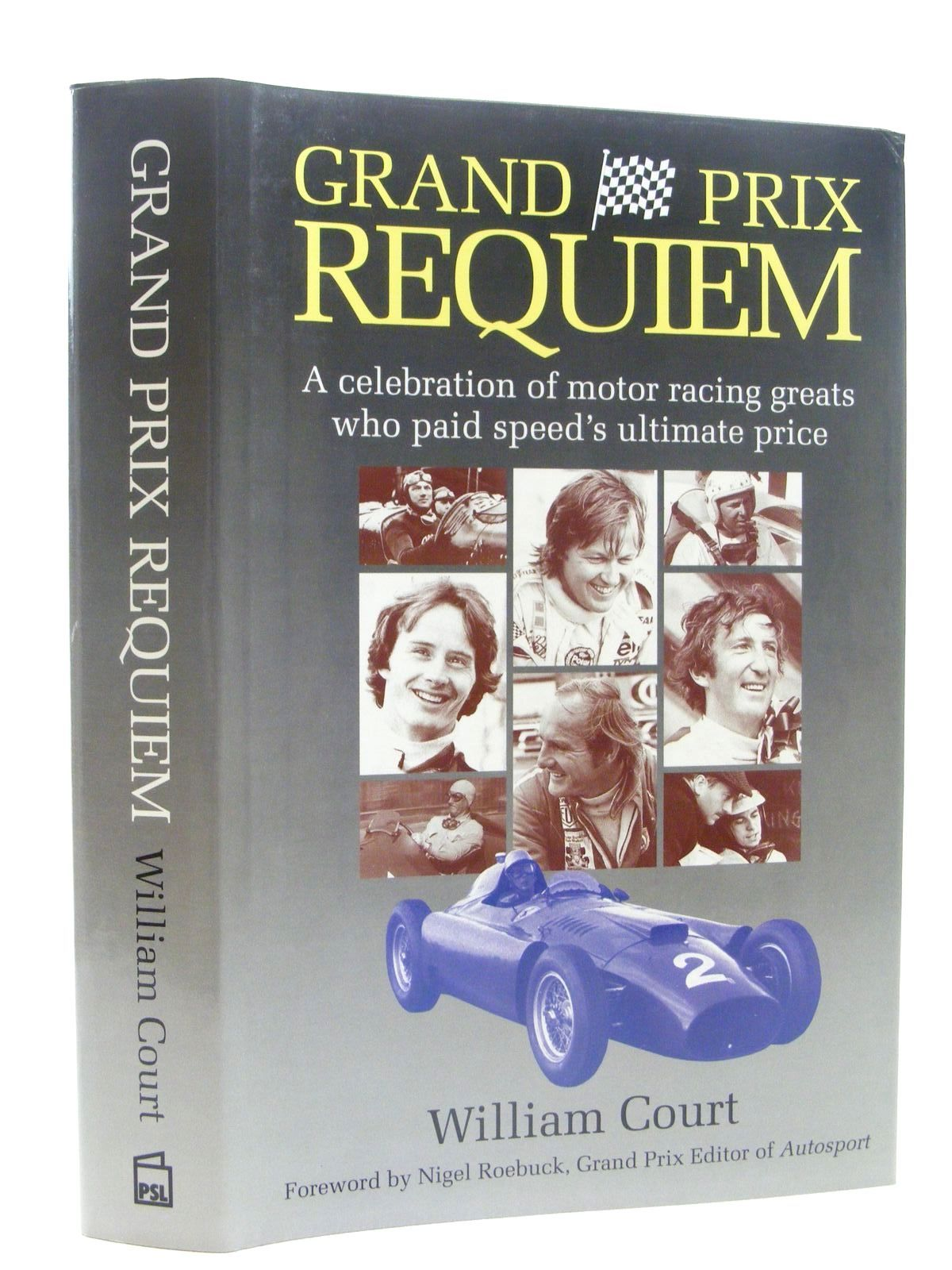 Photo of GRAND PRIX REQUIEM written by Court, William published by Patrick Stephens Limited (STOCK CODE: 1610321)  for sale by Stella & Rose's Books