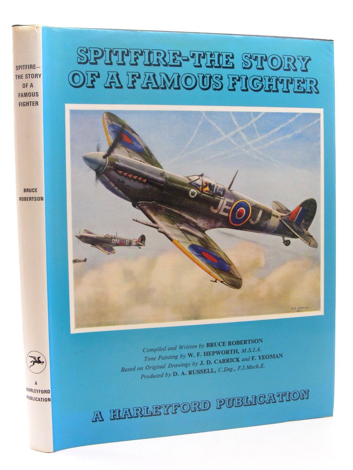 Photo of SPITFIRE THE STORY OF A FAMOUS FIGHTER written by Robertson, Bruce illustrated by Hepworth, W.F. published by Harleyford Publications Limited (STOCK CODE: 1610338)  for sale by Stella & Rose's Books