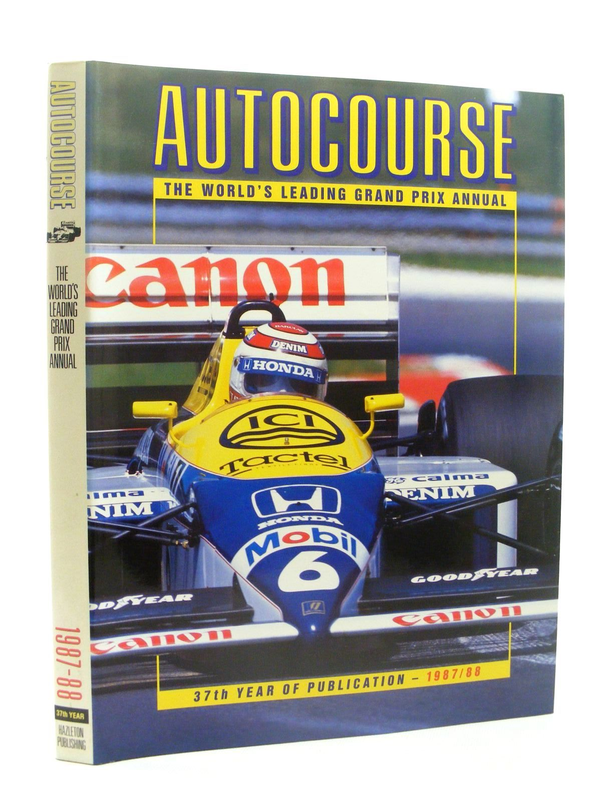Photo of AUTOCOURSE 1987-88 written by Hamilton, Maurice published by Hazleton Publishing (STOCK CODE: 1610343)  for sale by Stella & Rose's Books