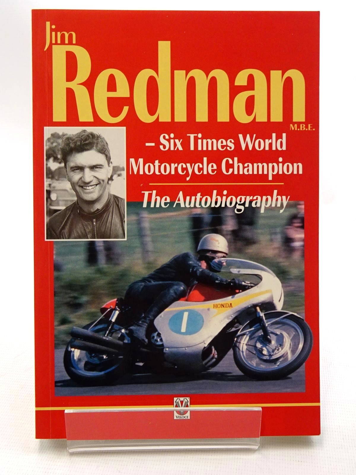 Photo of JIM REDMAN SIX TIMES WORLD MOTORCYCLE CHAMPION written by Redman, Jim published by Veloce Publishing Plc. (STOCK CODE: 1610390)  for sale by Stella & Rose's Books