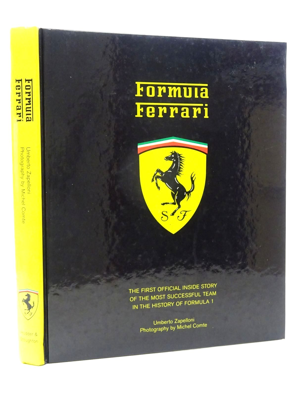 Photo of FORMULA FERRARI written by Zapelloni, Umberto published by Hodder & Stoughton (STOCK CODE: 1610411)  for sale by Stella & Rose's Books