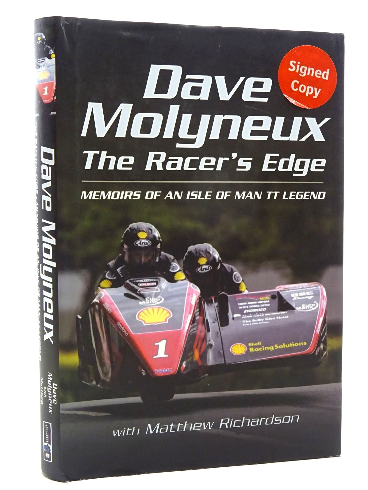 Photo of THE RACER'S EDGE MEMOIRS OF AN ISLE OF MAN TT LEGEND written by Molyneux, Dave published by Wharncliffe Books (STOCK CODE: 1610420)  for sale by Stella & Rose's Books