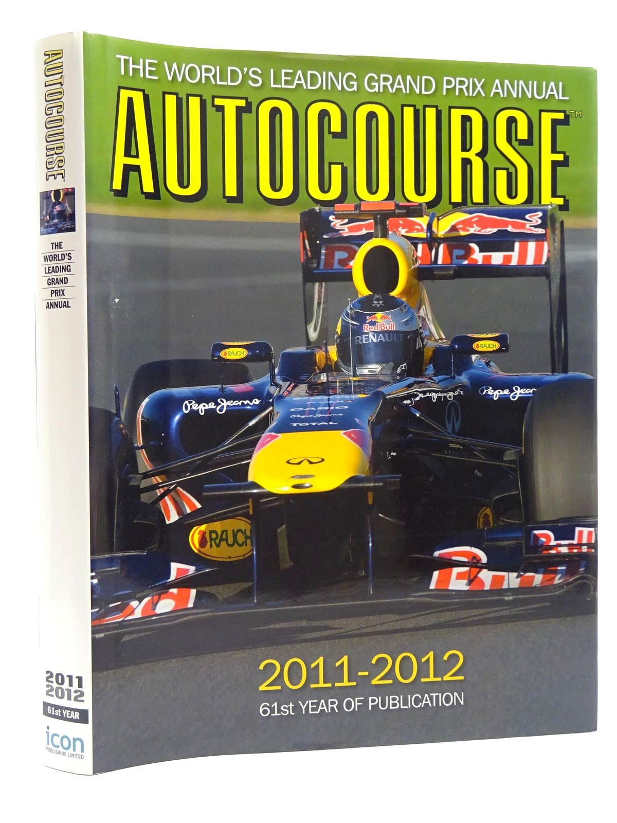 Photo of AUTOCOURSE 2011-2012 written by Arron, Simon<br />Henry, Alan published by Icon Publishing Limited (STOCK CODE: 1610430)  for sale by Stella & Rose's Books