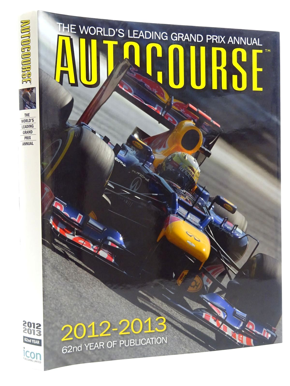 Photo of AUTOCOURSE 2012-2013 written by Arron, Simon<br />Henry, Alan published by Icon Publishing Limited (STOCK CODE: 1610432)  for sale by Stella & Rose's Books