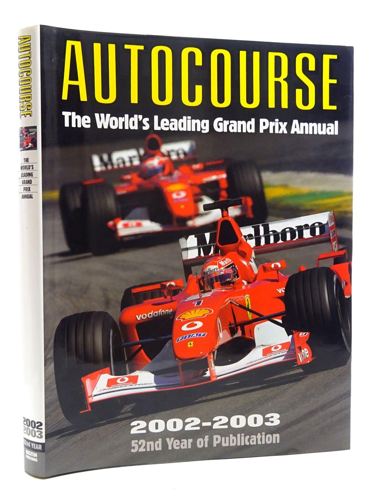 Photo of AUTOCOURSE 2002-2003