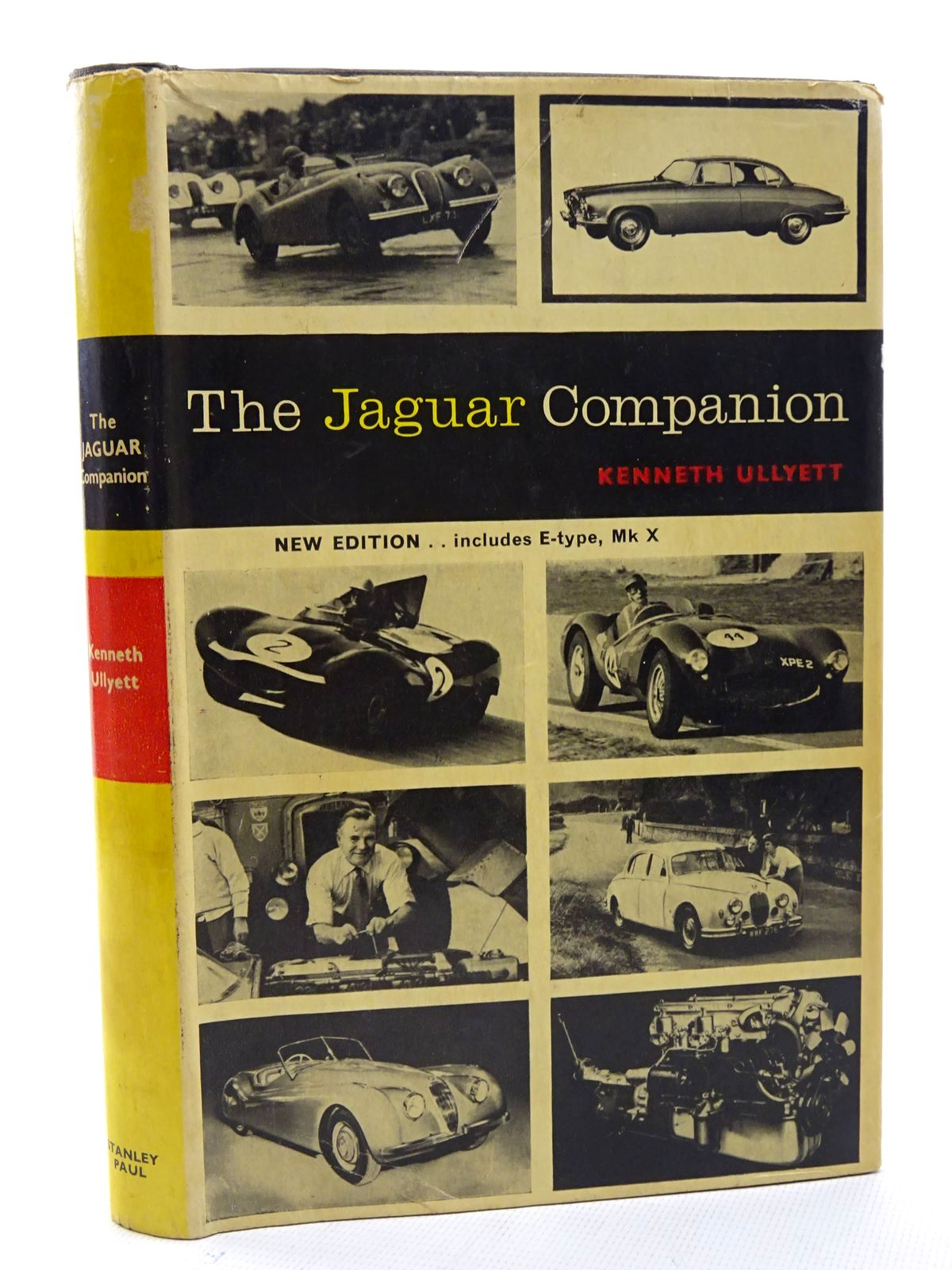 Photo of THE JAGUAR COMPANION written by Ullyett, Kenneth published by Stanley Paul (STOCK CODE: 1610587)  for sale by Stella & Rose's Books