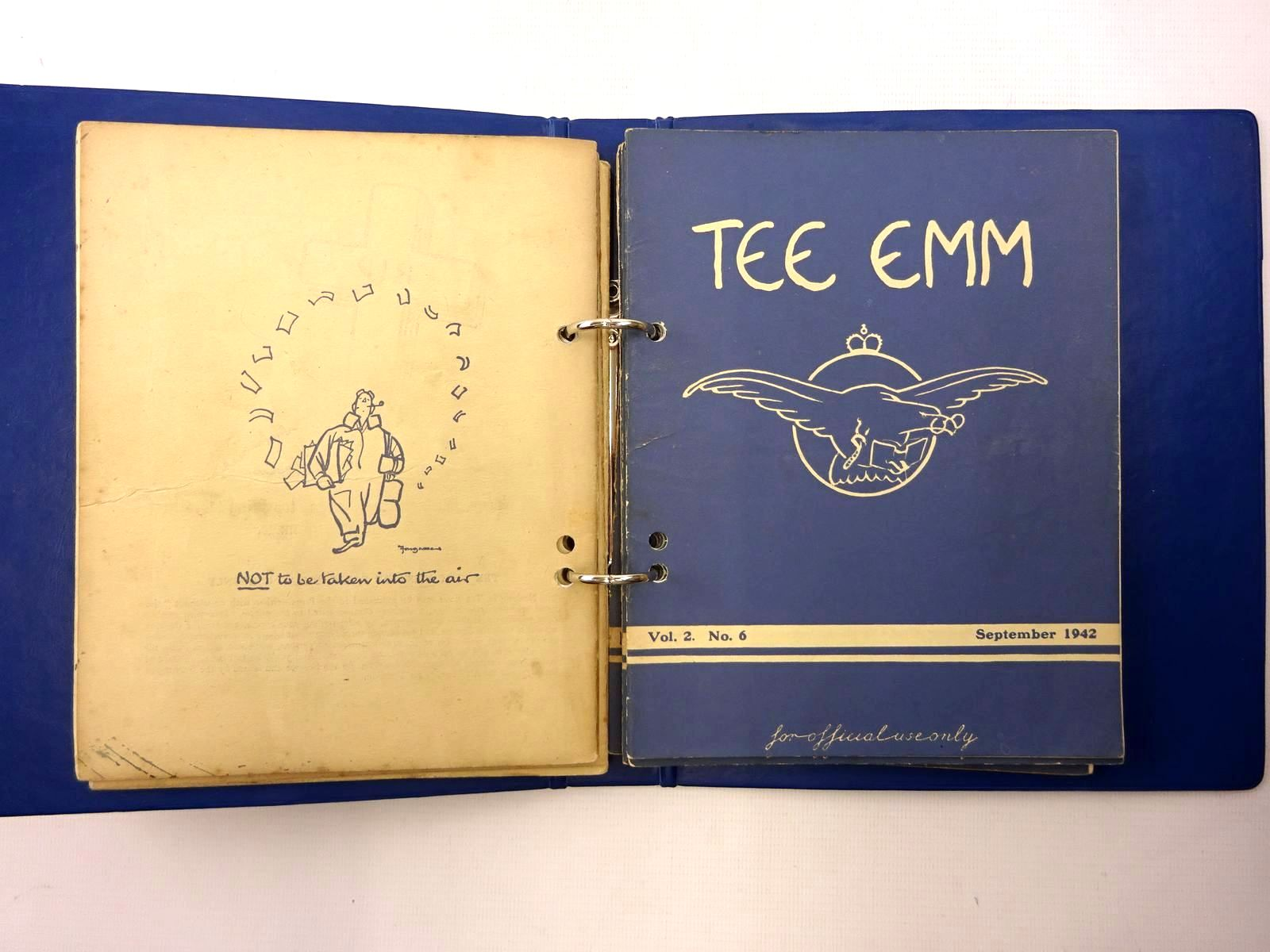 Photo of TEE EMM (1942-1943 8 VOLUMES IN RING BINDER) (STOCK CODE: 1610643)  for sale by Stella & Rose's Books