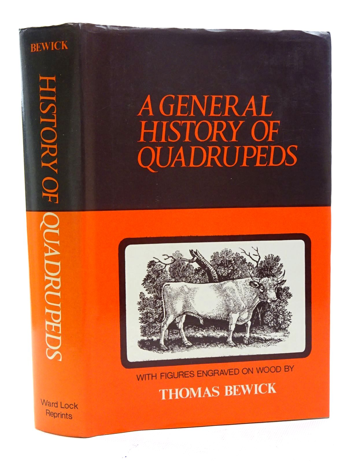 Photo of A GENERAL HISTORY OF QUADRUPEDS written by Bewick, Thomas illustrated by Bewick, Thomas published by Ward Lock Reprints (STOCK CODE: 1610658)  for sale by Stella & Rose's Books