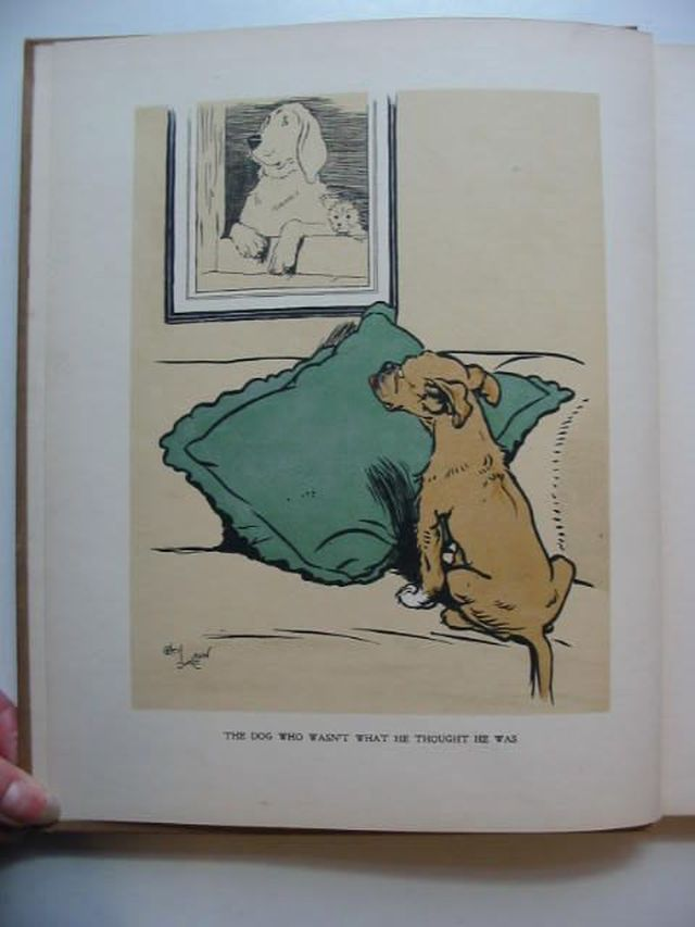 Photo of THE DOG WHO WASN'T WHAT HE THOUGHT HE WAS written by Emanuel, Walter illustrated by Aldin, Cecil published by Raphael Tuck & Sons Ltd. (STOCK CODE: 1701041)  for sale by Stella & Rose's Books